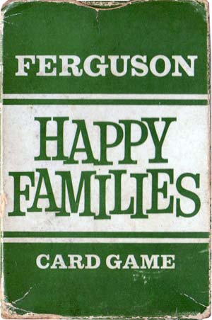 Ferguson Happy Families printed by John Waddington Ltd, c.1960